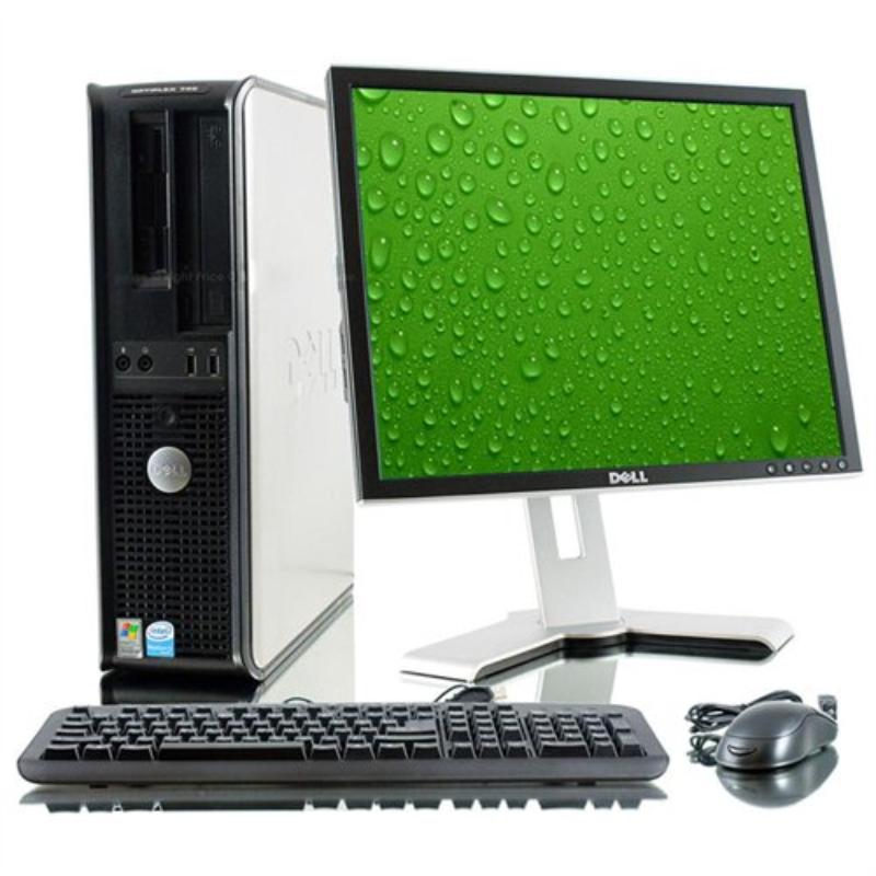 DELL OPTIPLEX 755 CON LCD DE 17 PULGADAS
