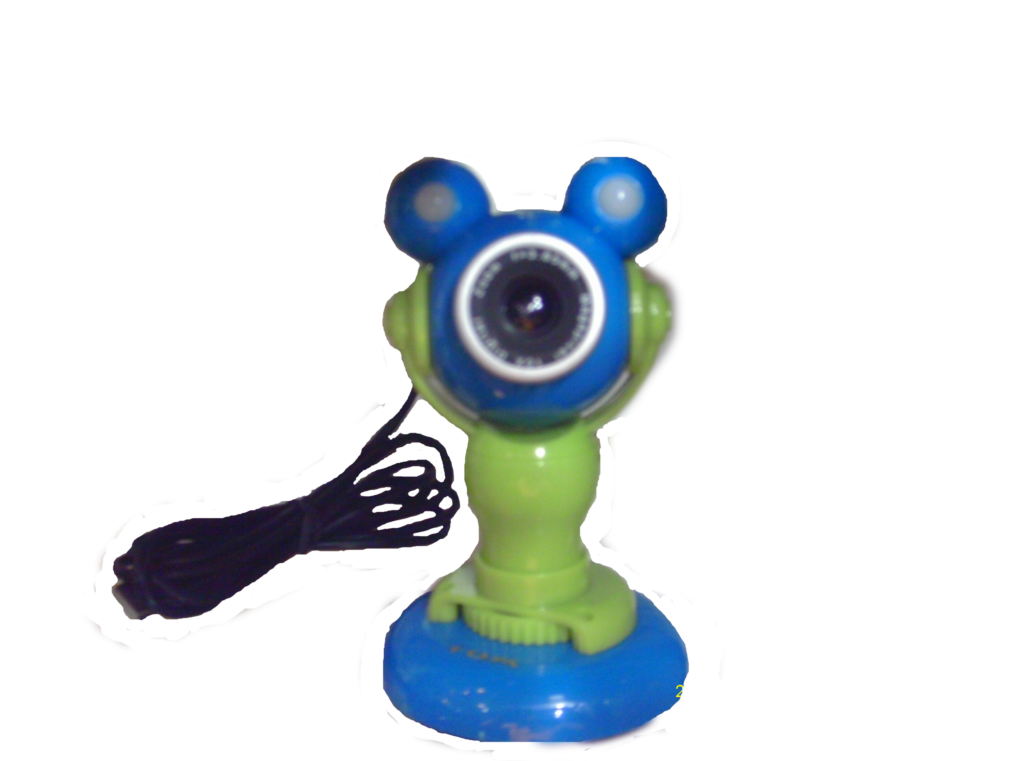 Webcam varios colores