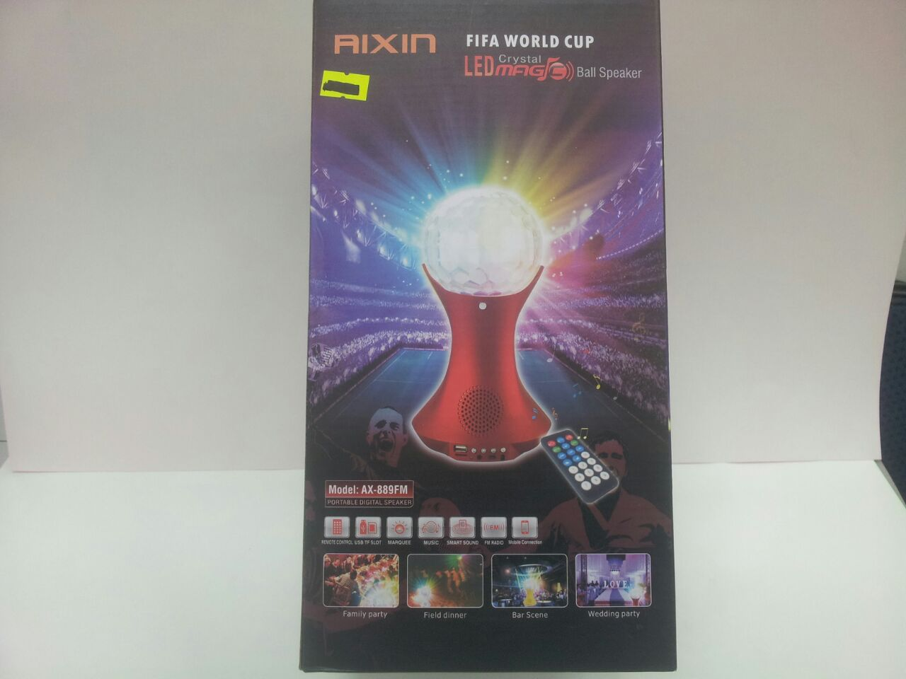 BOCINA FIFA CUP GIRATORIA