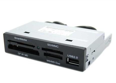 Multilector de tarjetas flash: SD, MiniSD, MicroSD, MicroSDHC, Memory Stick, Memory Stick Pro, Memory Stick DUO, Memory Stick ProDUO