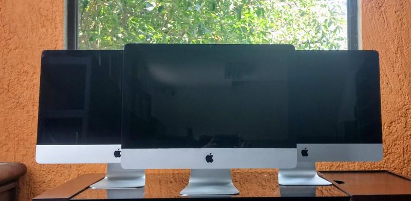 all in one iMac cori 5 4 gb en ramm 500 gb en disco duro