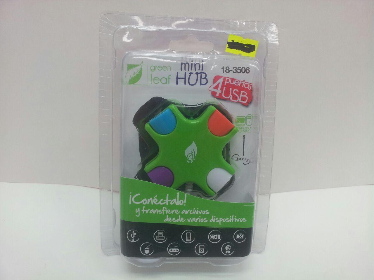 MULTICONECTOS USB CUADRO COLOR